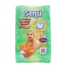 Jual Sensi Regular Pants Slim Design Popok Bayi Dan Anak Unisex Diapers Tipe Celana Size M 34 Pcs Murah Banten