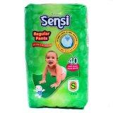 Sensi Regular Pants Slim Design Popok Bayi Dan Anak Unisex Diapers Tipe Celana Size S 40 Pcs Sensi Diskon 30