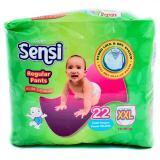 Beli Sensi Regular Pants Slim Design Popok Bayi Dan Anak Unisex Diapers Tipe Celana Size Xxl 22 Pcs Terbaru