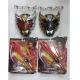 Spesifikasi Sepasang Pedang Bima Dan Topeng Merah Dan Topeng Hitam Bagus