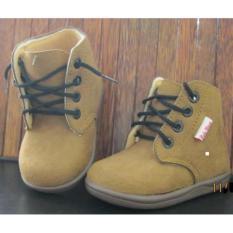 Spek Sepatu Anak Babywang Umur 1T 3T Baby Wang Sherif Coklat Banten