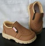 Beli Sepatu Anak Sepatu Baby Wang Juno Brown Besar Kredit Banten
