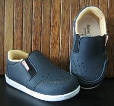 Sepatu Baby Wang Sepatu Anak Juno Black Original