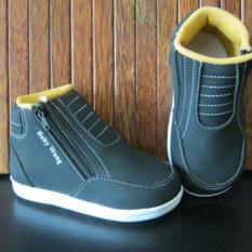 Model Sepatu Baby Wang Sepatu Anak Panther Boots Terbaru