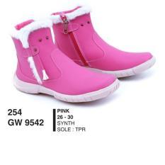 Toko Sepatu Boot Anak Perempuan Sepatu Anak Perempuan Gwx9542 Pink Termurah Di Indonesia