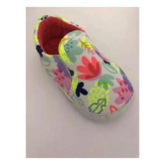 Sepatu Prewalker Bayi Catell Love White Flower Colorfull