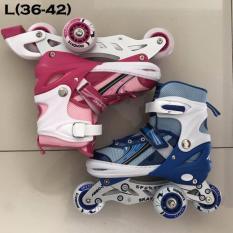 Sepatu Roda Anak Power Inline Skate POWER SUPERB Model BAJAJ