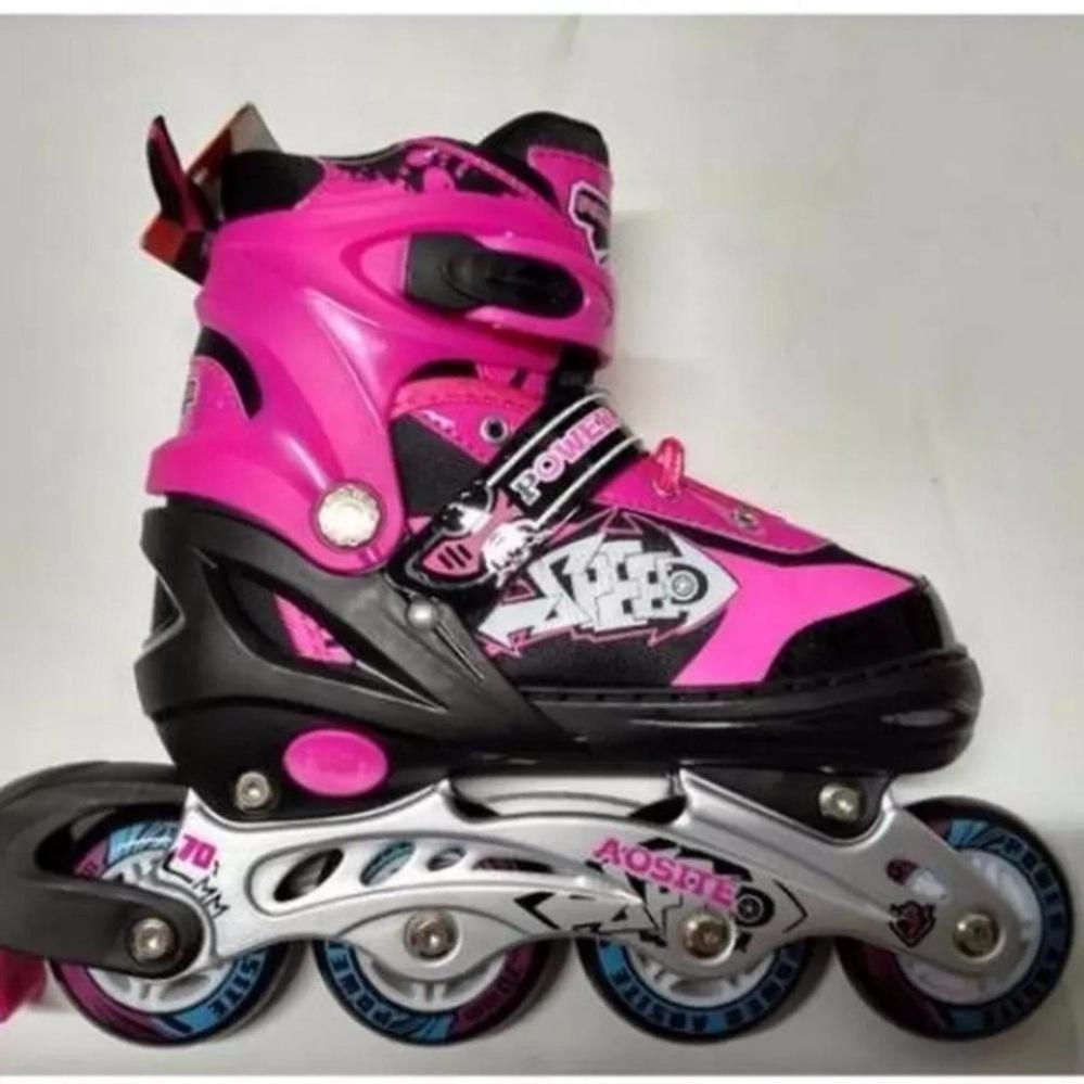 Beli sekarang Sepatu Roda Inline Skate Bajaj 1000 Power Aosite Ban Karet  terbaik murah - Hanya Rp318.850 b09ef48452