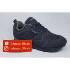 Sepatu Sekolah Anak Tanggung DESLE - HARRY OSBORNE Hitam/Abu