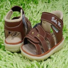 Jual Sepatu Sendal Laki Laki Zigzag Coklat Ori
