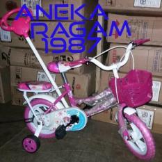 Sepeda Anak Mini 12 Stir Cewek. - A96ab6 - Original Asli