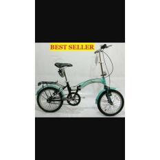 Sepeda Lipat United Stylo Size 16. - 66D9D7 - Original Asli
