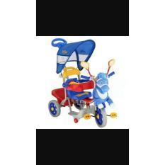 Sepeda Roda 3 Family Full Music Depan Belakang. - Rf4rct