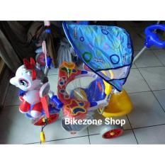 Sepeda Roda Tiga Anak Family Kuda Pony Full Musik Gosend Bandung - 4Ckqcz