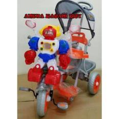 Sepeda Roda Tiga Family Robot. - 63Ab7c - Original Asli