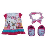Jual Hello Kitty Karakter Set Perlengkapan Bayi For New Born Termurah