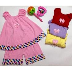 Harga Setelan Anak Perempuan Baju Bayi Dress Baru
