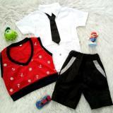 Jual Setelan Baju Bayi Anak 4In1 Vest Caleb Ori