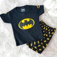 Setelan Baju Bayi / Setelan Baju Anak / Batman