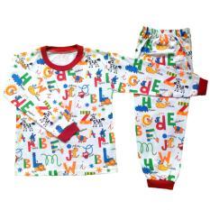 Setelan Baju Tidur Piyama Anak Laki -laki Lengan Panjang PA11-003