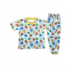 Setelan Baju Tidur Piyama Anak Laki -laki Lengan Pendek PB2-003