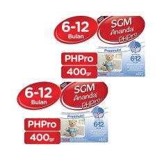 Cara Beli Sgm Ananda Phpro 6 12 Bulan 400G Bundle 2 Box