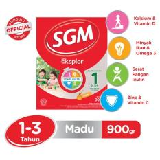 SGM Eksplor Complinutri 1+ Susu Pertumbuhan - Madu - 900gr