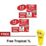 Beli Sgm Eksplor Presinutri 1 Susu Pertumbuhan Vanila 900Gr Bundle 2 Box Free Tropical 1L Murah Di Indonesia