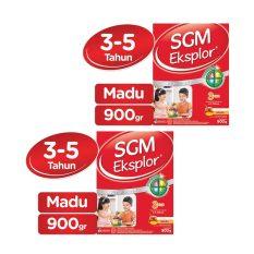 Spesifikasi Sgm Eksplor Presinutri 3 Susu Pertumbuhan Madu 900Gr Bundle Isi 2 Box
