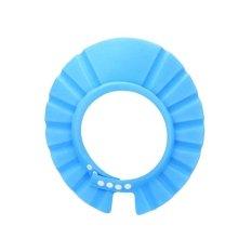 Shampoo Nat TOPI KERAMAS ANAK SHOWER CAP Kancing- Biru