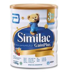 Spek Similac Gain Plus 850Gr Abbot
