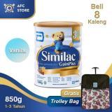 Perbandingan Harga Similac Gainplus Vanilla 850Gr 8 Kaleng Trolley Bag Similac Gain Plus Di Dki Jakarta