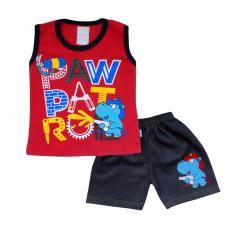 SKABe Baby W/Tua Singlet Stelan Jeans 2408 - Merah