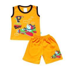 SKABe Baby W/Tua Singlet Stelan Kaos 2292 - Kuning
