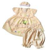 Beli Skabe Baju Anak Bayi Perempuan W Muda 1673 Kuning Muda Baru