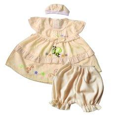 Beli Skabe Baju Anak Bayi Perempuan W Muda 1673 Kuning Muda Online Dki Jakarta
