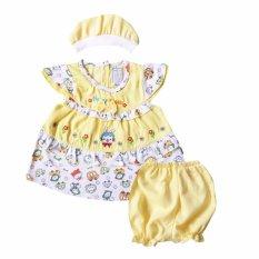 Skabe Baju Anak Bayi Perempuan W/Muda 2218 - Kuning Muda