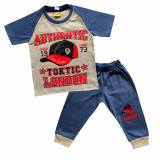 Jual Skabe Baju Anak Bayi W Tua Tangan Pendek Kimono Stelan Kaos Cln 3 4 2486 Biru Abu Ori