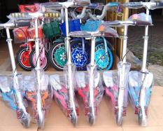 Skuter Otoped Dual Pedal Injakan Besi - Scooter Otopet Harga Grosir