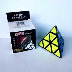 Sloof Rubik Pyraminx Qiyi Qiming Black Base Speed cube - Rubik Pyraminx