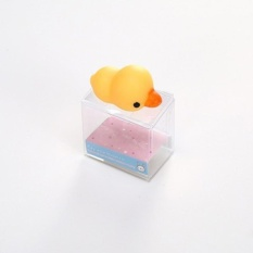 Small Duck,1pcs Cute Cartoon Little Animals Decompression Pinching Toys Office Furniture Reducing Pressure Toys - intl