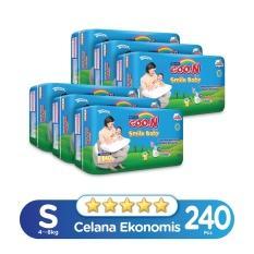 Tips Beli Smile Baby Pants Super Jumbo S Isi 40 Karton