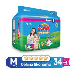 Jual Smile Baby Pants Wonderline Super Jumbo M Isi 34 4 Bonus Pack Jawa Barat