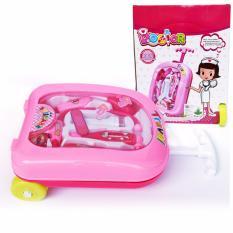SNETOYS - Doctor Little Angel Trolley Suitcase - Mainan Dokter-Dokteran Anak Doctor Travel Suitcase Koper