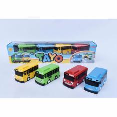 Spesifikasi Snetoys Mainan Anak Bus Tayo Mobilan Tayo 4 In 1 Package Yg Baik
