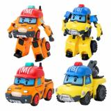 Promo Snetoys Robocar Poli Transforming Robot Mark And Bucky