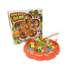 SNETOYS - Mainan Pancingan Ikan dengan 5 Kolam. Fishing Game 5 Ponds
