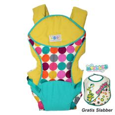 Jual Snobby Gendongan Ransel Double Fungsi Saku Color Marbles Tpg 1541 Kuning Free Slaber Snobby Snobby Online