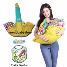 Harga Snobby Gendongan Samping Df Saku Batita Color Marbles Tpg 1042 Kuning Free Slaber Snobby Original