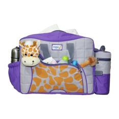 Beli Snobby Tas Bayi Besar Saku Aplikasi Boneka Tbsd Giraffe Series Tpt 1577 Ungu Tas Bayi Online Murah
